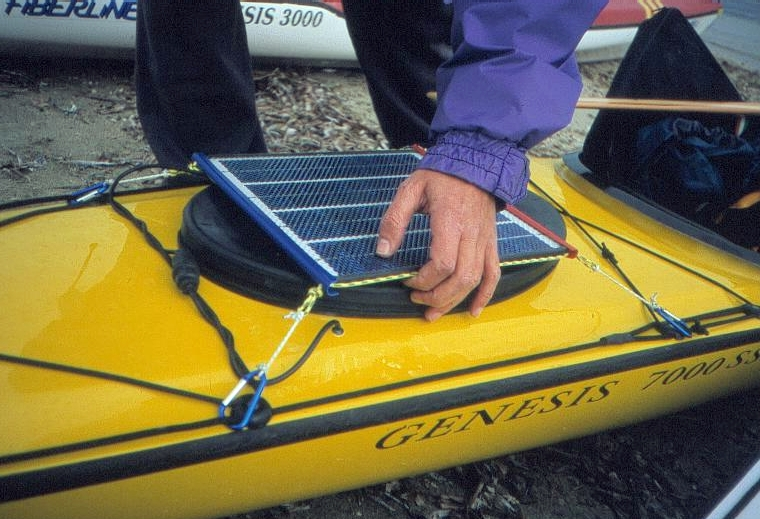 Pannello Solare Kayak : Diario